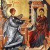 """Donaţie icoană """"Buna Vestire"""" pentru biserica Sf. Vasile"""